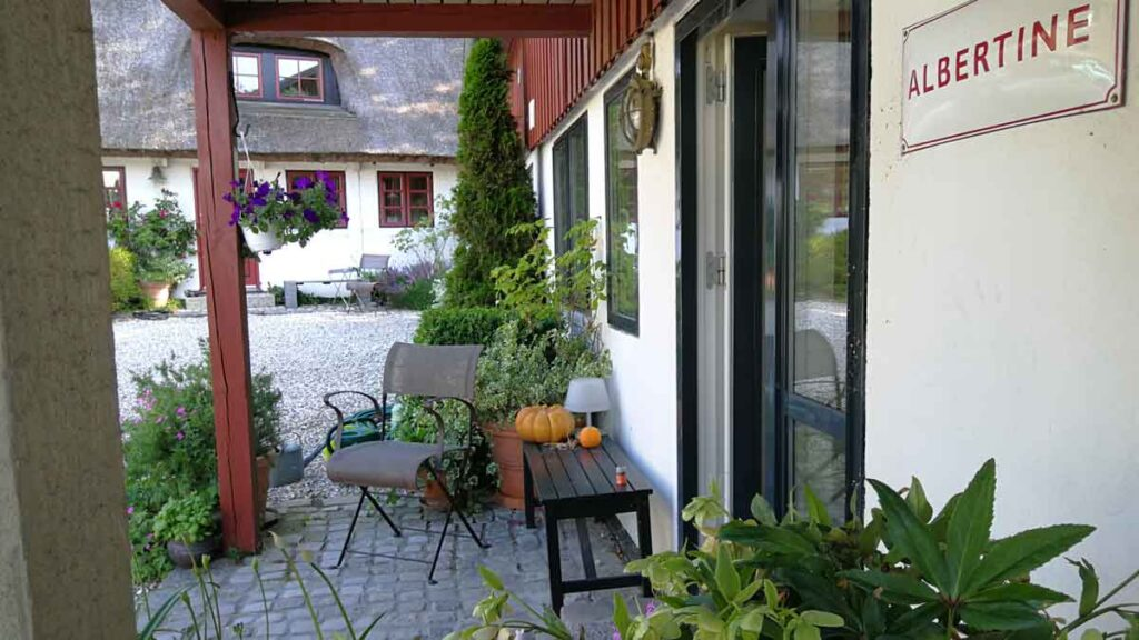 Bed and Breakfast Hotel Albertine i Tune ved Roskilde